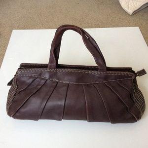 Leornello borghi leather bag.